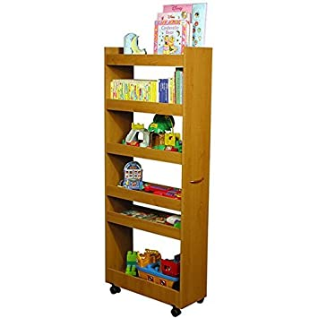 Great Venture Horizon Thin Man Pantry Cabinet Oak