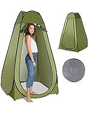 sazoley Tienda de campaña de privacidad emergente Tienda de campaña portátil para baño con ducha al aire libre para acampar y playa