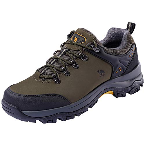 CAMEL CROWN Hiking Shoes Men Trekking Shoe Low Top Outdoor W