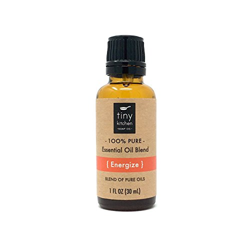 Energize - Aromatherapy Blend of Pure Undiluted Essential Oils (30 mL / 1 fl oz) - Energize Therapy