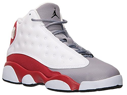 408a0b34ef85 Galleon - Nike Air Jordan 13 Toddler Kids Retro White Red Cement Grey Black  414575-126 (SIZE  11)