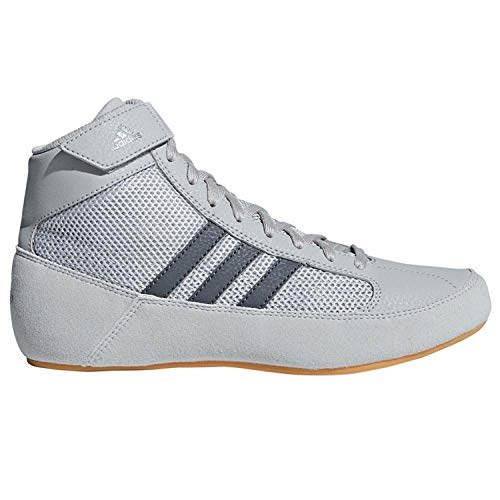 adidas Hvc2 Youth Light Onyx Dark Onyx Wrestling Shoes Onyx 6