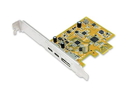 SUNIX IT USB 3.1 Dual Port USB-C PCI Express (w/Alternate-Mode) (UPD2018)