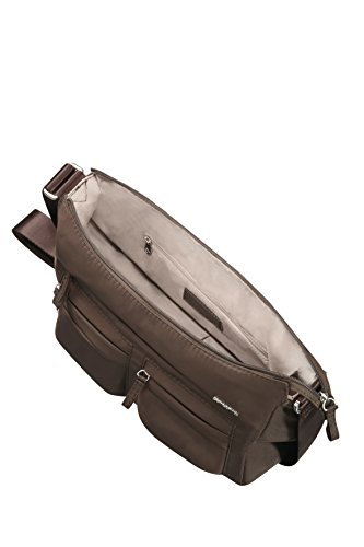 Samsonite Move 2 Horizon Shoulder + 2 Pock Borsa Messenger, 29 cm, Dark Brown