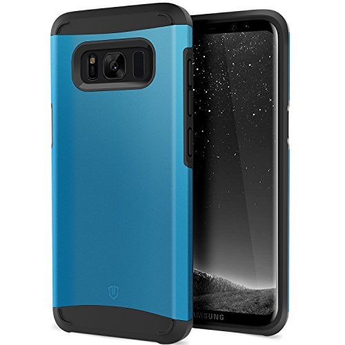 1 Rise Series - Galaxy S8 Plus Case, SHIELDON Shockproof Detachable Hybrid [Dual Layer] [Slim] Durable Soft TPU & Hard PC Cover Case [Sunrise Series] Compatible with Galaxy S8 Plus (6.2