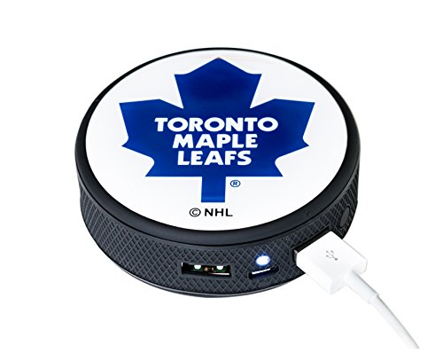 NHL Toronto Maple Leafs Remote Phone Charger, Black