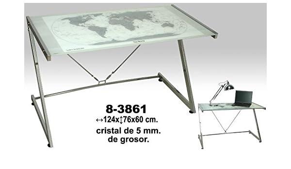 Suska - Mesa metal y cristal maps suska 1020-8386120 - mesa con ...