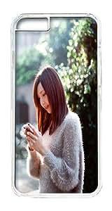 IPhone 6 Plus Case, IPhone 6 Plus Cases Hard Case Girl Under The Sun Case For IPhone 6 Plus, IPhone 6 Plus PC Transparent Case