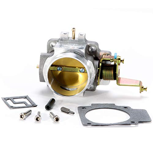 1998 Jeep Cherokee Body Parts - BBK 1724 62mm Throttle Body - High Flow Power Plus Series for Jeep 4.0L