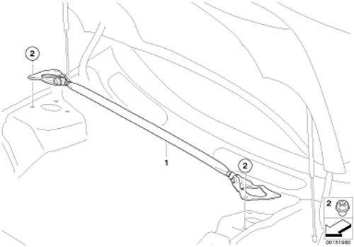 MINI Genuine JCW Lower Air Inlet Intake Trim Grille Finisher Black 51130442011