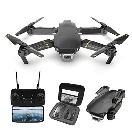 Drone with Camera for Kids Beginners Adults,M65 Folding RC Drone FPV WIFI Camera 480P Altitude Hold Function Selfie…