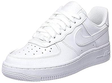 Nike Wmns Air Force 1 07 Zapatillas de Baloncesto, Mujer, Blanco ...