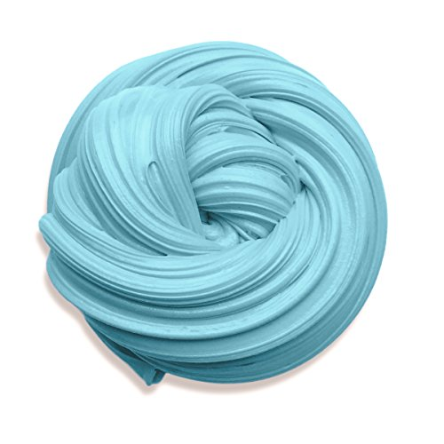 Fluffy Slime 6 Ounce Baby Blue Putty Floam Slime with Storage Container Sensory Play Stress Relief Toy ADHT ASMR No Borax with Nice Fragrance for Kids and Adults Pink slime