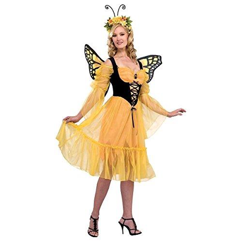 Monarch Butterfly Costume - Standard - Dress Size 10-12 ()