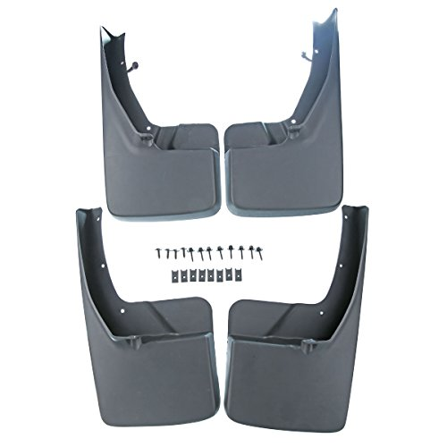 Guards Mud 1500 Splash (A-Premium Splash Guards Mud Flaps Mudflaps for Dodge Ram 1500 2500 3500 2009-2017 Without Factory Fender Flares Front and Rear 4-PC Set)