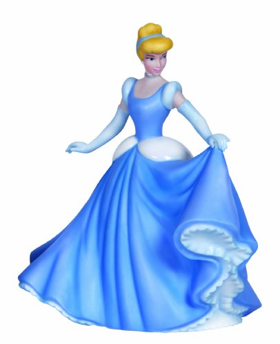 Disney Cinderella Collectible - Precious Moments, Disney Showcase Collection, Let Your Heart Dance, Bisque Porcelain Figurine, 132707