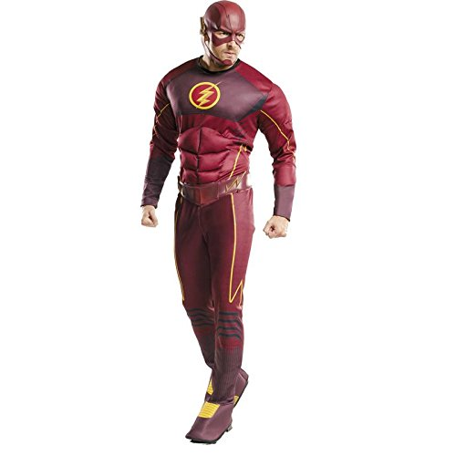 Rubie's Costume Co Men's Flash Deluxe Costume, Multi, Standard