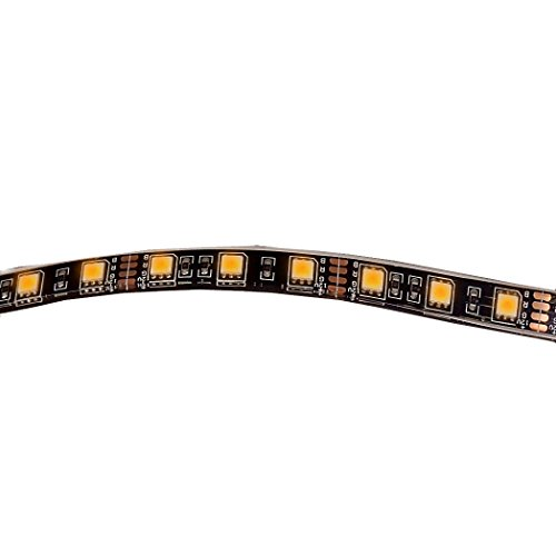 Maxxima (MLS-1827Y) Amber 18″ LED Self-Adhesive Strip Light