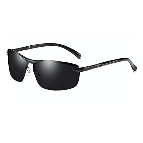 Yangjing-hl Diseño de Marca Gafas de Sol de Moda Hombres Piloto ...