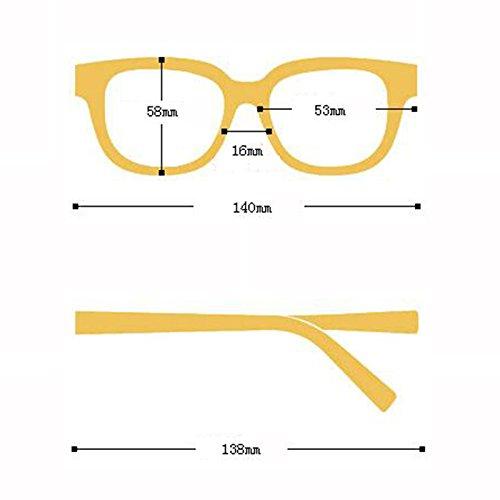 de polarizadas Gafas ULTRAVIOLETA de las la UV400 de Gafas sol ocasionales Visor protección Personalidad nuevas Gafas Protección Sun excursionista de de co Regalo sol C Opcional de Pink sol mujeres Vintage 5 waxwUSq