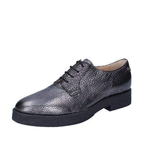 Cordones Mujer Gris Zapatos Liu Piel Jeans Jo Para De vxnSnw0I8q