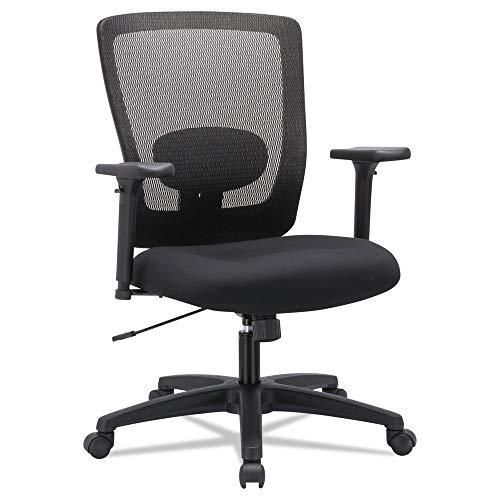 - Alera ALENV42B14 Envy Series Mesh Mid-Back Swivel/Tilt Chair, Black