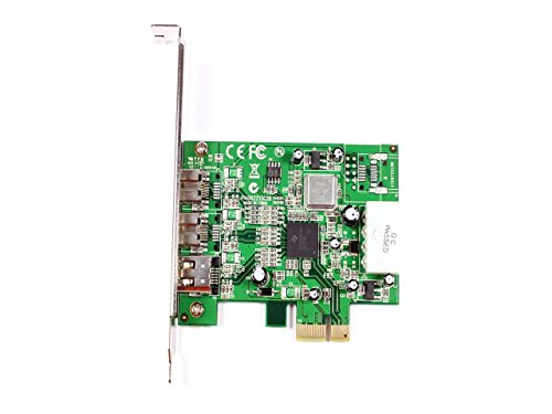 New Genuine Dawicontrol DC-FW800 Wired PCI FireWire 800 Mbit/s TI082AA2/TI081BA3 Interface Card F0F1C by {{DawiControl}}