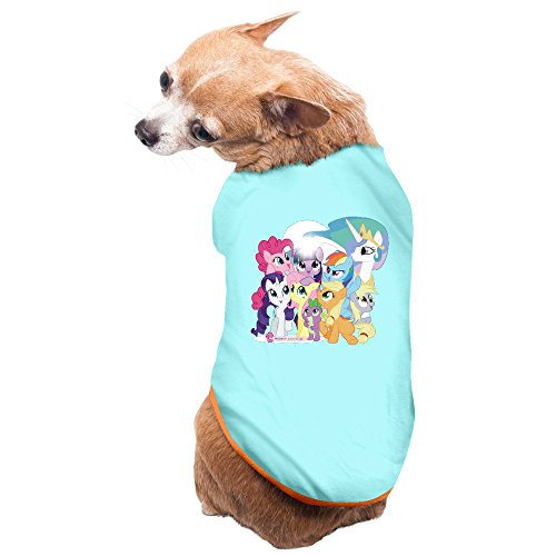 [Pets My Little Pony Tshirt SkyBlue] (My Little Pony Costume For Dogs)