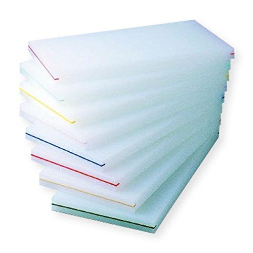プラスチックまな板 カラーバンド張 B 1000×400×30 イエロー B01420WP0Q