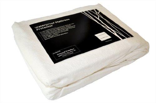 Natural Comfort Waterproof Mattress Protector-Cotton Terry T