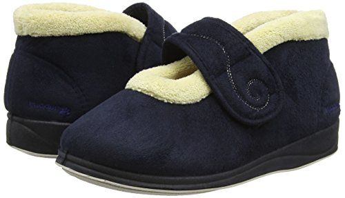 Alto 24 Padders Collo Blu Donna Pantofole Plus navy Hush A qUUwAOXz
