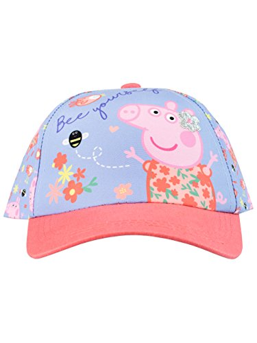 Peppa Pig Girls' Peppa Baseball Cap One -
