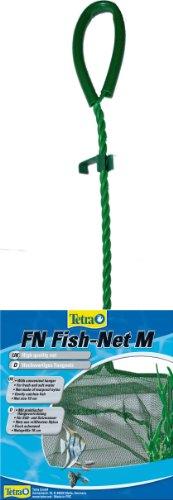 Tetra FN Fish-Net Größe M, (hochwertiges Fangnetz aus reißfestem Nylon für Aquarien, Netzgröße 10 cm, ermöglicht das leichte und schonende Herausfangen von Fischen)
