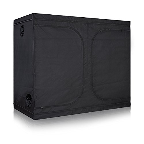 TopoLite Grow Tent 600D Reflective Mylar Dark Room Hydroponic Indoor Growing Plants (120''x60''x80'') by TopoLite