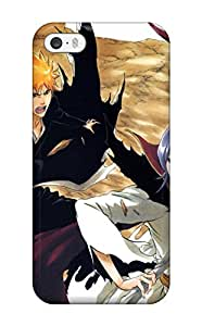 Hot Design Premium UnJhZiU1866QyiBH Tpu Case Cover Iphone 5/5s Protection Case(bleach Movie 3 Promo Image Drawn And Colored By Kubo Tite)