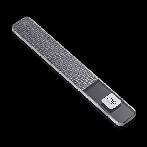 Glass Nail File,Nanomaterial Tempered Glass with Professiona