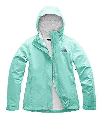 The North Face Women's Venture 2 Jacket Mint Blue Large