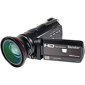 Amazon.com : 1080p HD Infrared Night Vision and Full Spectrum ...