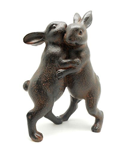 DCI Resin Dancing Bunny Couple Statue 7