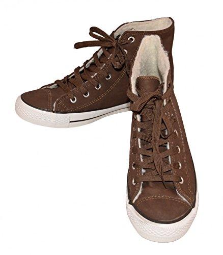 DT NewYork Chaussures Bateau Homme Men's Casual Budget, Couleur:brun;Taille:44