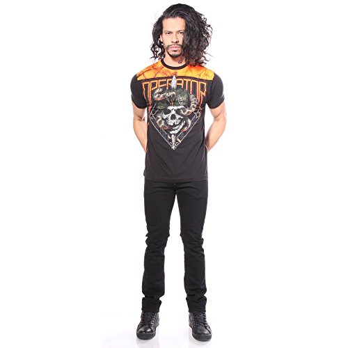 Affliction Silnt Swift Camisetas hombre para 7rx0wnrPYq