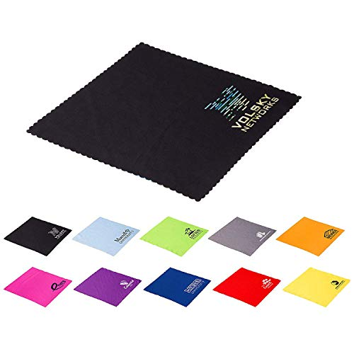 250 Promotional Value Plus Microfiber Cloth Printed with Your Logo or Message