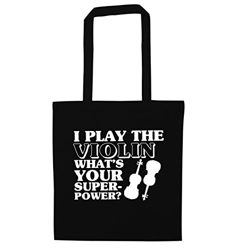 Creative Your Tote Violin Flox Bag Black What's I Play Superpower d1nqf0
