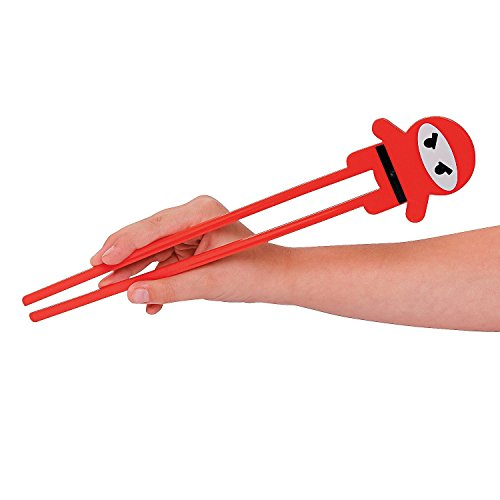 Fun Express Plastic Ninja Chopsticks (24 Pack) -