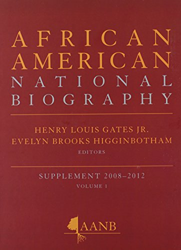 Books : African American National Biography: 2-Volume Set (Oxford African American Historical Reference)