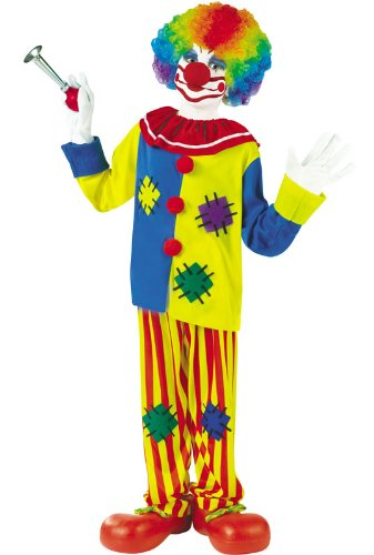 Fun World Big Top Clown Child Costume - -