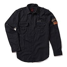 Royal Enfield Shank Shirt Charcoal (S) 39 cm(RLASHI000013)