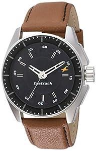Fastrack Black Magic Analog Black Dial Men's Watch NM3089SL05 / NL3089SL05