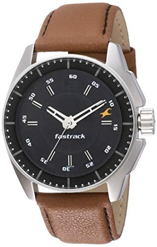 Fastrack Black Magic Analog Black Dial Men's Watch NM3089SL05/NN3089SL05