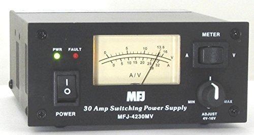 MFJ Enterprises Original MFJ-4230MV 30Amp Switching Compact Power Supply 13.8VDC (Fixed Power Supply Voltage)